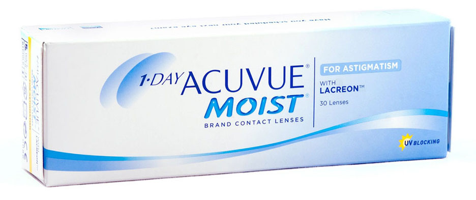 картинка 1-Day Acuvue Moist For Ast. (30 шт.)