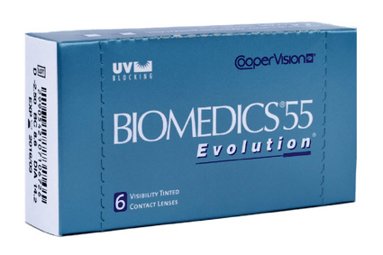картинка Biomedics'55 Evolution (6 шт.)