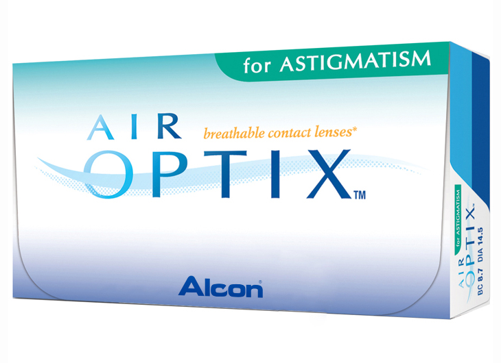 картинка Air Optix Aqua For Ast. (3 шт.)