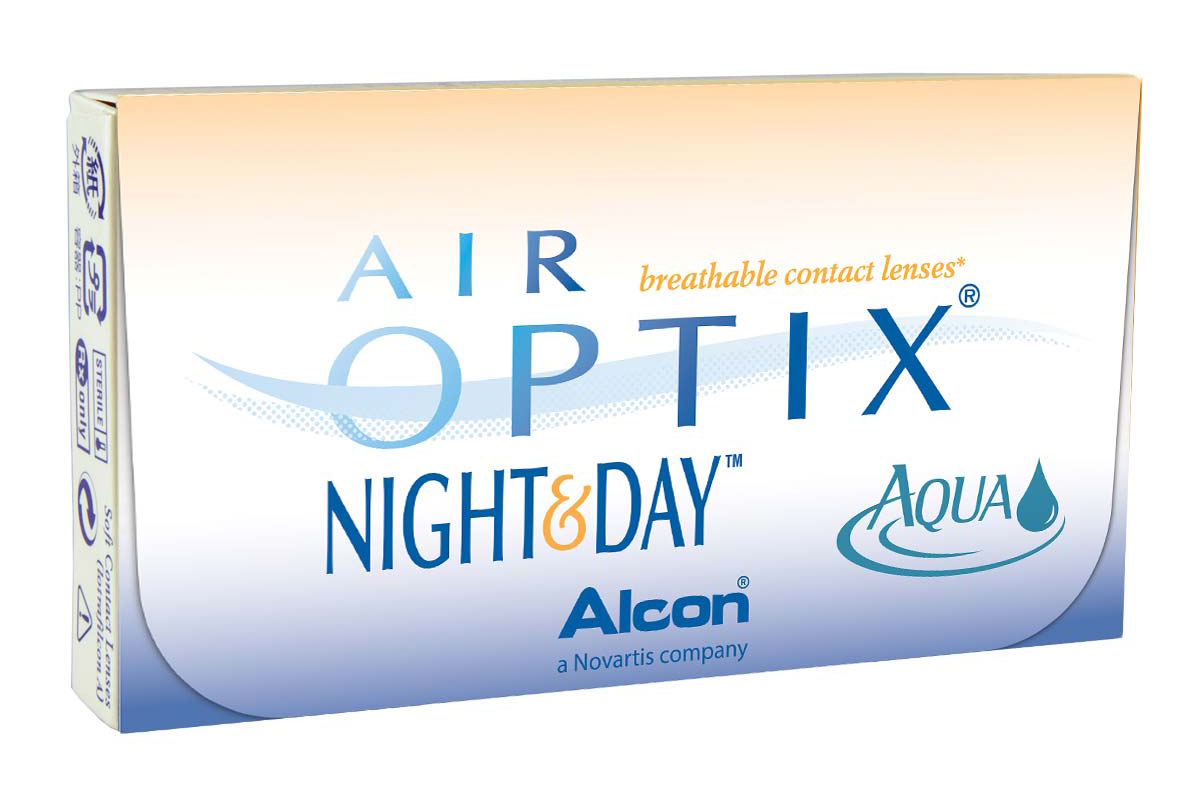 картинка Air Optix Night&Day Aqua (3 шт.)