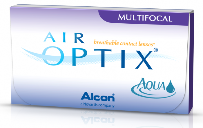 картинка Air Optix Aqua Multifocal (3 шт.)